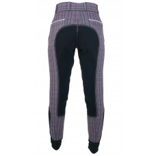 Plaid Full Seat Breeches - 644718