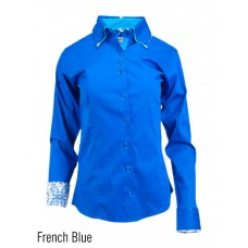 2 Toned Button Fitted Show Shirt-68223