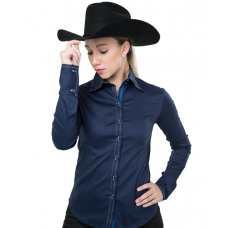 Buck Stitch Button Down Show Shirt - 68242