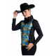 2 Tone Show Vest w/Stretch Side Panel - V209975