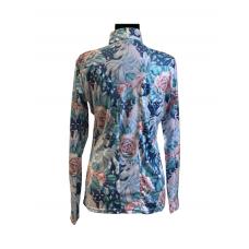 Easy Care Unicorn Horse w/Rose Vignette Sun Shirt - 68495