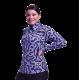 Print Zip Purple Diamond Show Shirt - 68489