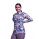 Easy Care Folk Floral Sun Shirt - 68492