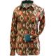 Print Button Easy Care Show Shirt - 68535