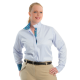 Plus Size Coolmax Wrap Collar Shirt - 68200A