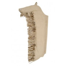 Ultra Suede Leather Fringe Chaps