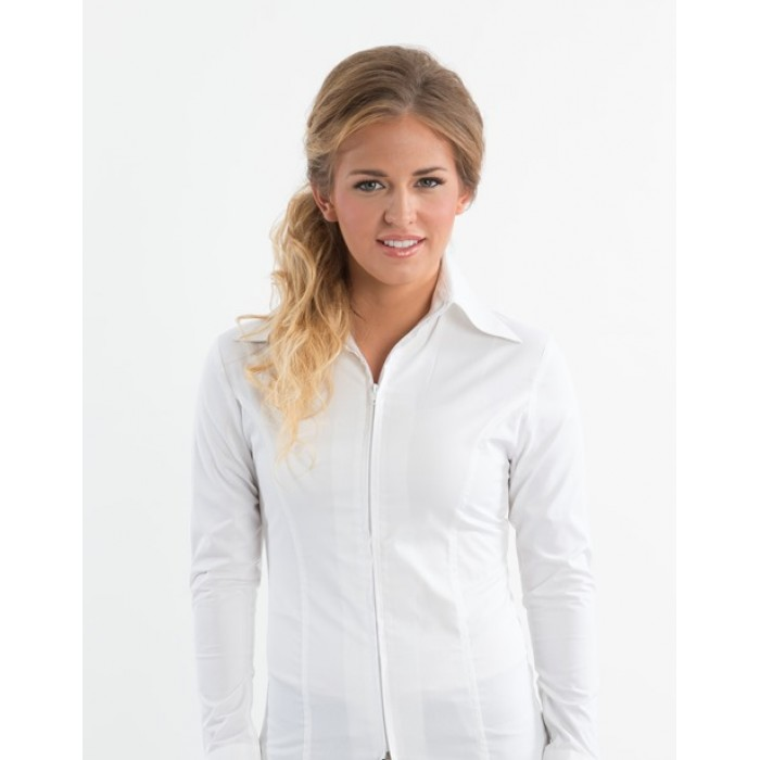 Zip Up Fitted Show Shirts 68227