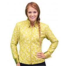 Mint Paisley Show Shirt