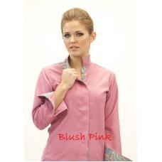 Fashionable Wrap Collar Shirt - 68700