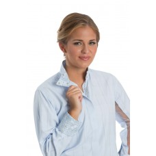 Wrap Collar Under Arm Mesh Coolmax Shirt - 68231