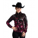 Burgundy Rose Show Jacket-209906