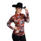 Red Swirls Show Jacket - 209901
