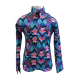 Easy Care Abstract Print Show Shirt- 38299