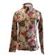 Print Zip Surgar Skull Show Shirt - 68487